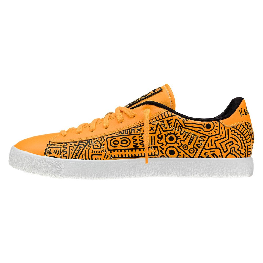 Keith Haring fashion print for standout style  High abrasion rubber  outsole for increased durability