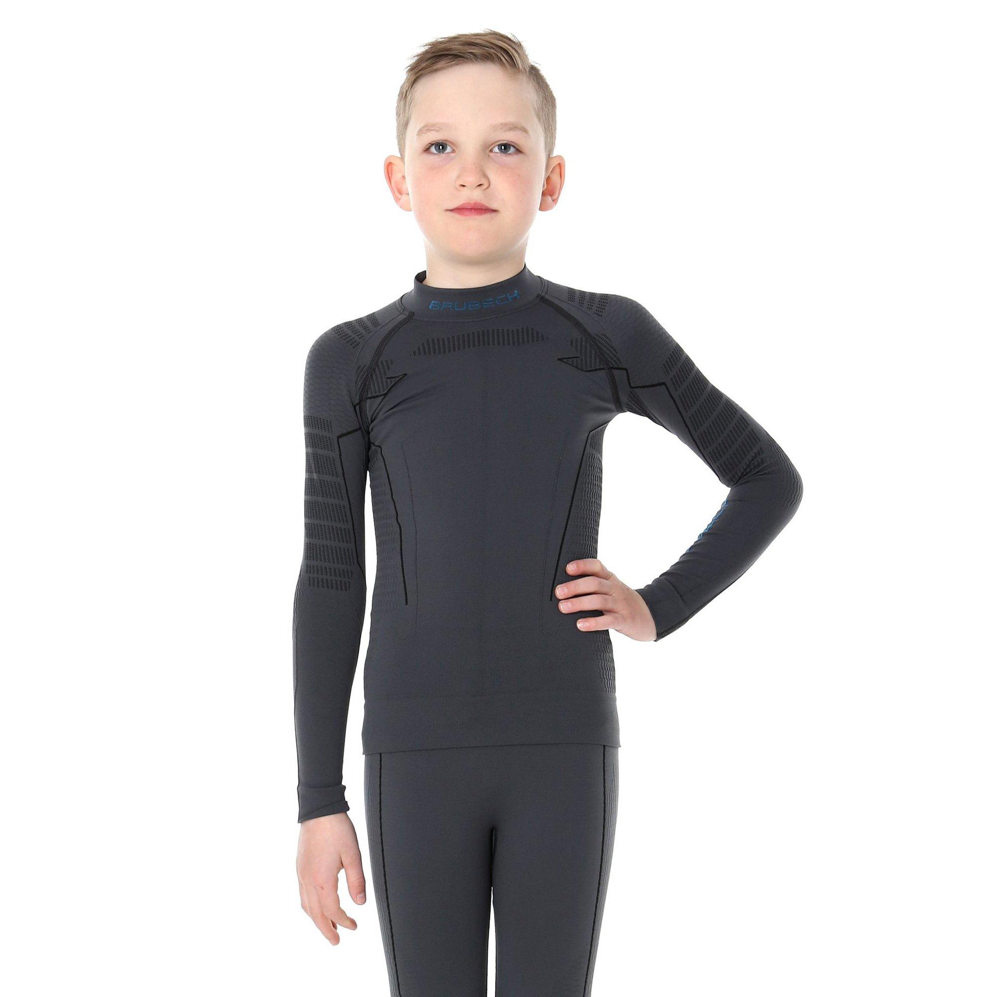 813d0456770401 ... Bluza chłopięca Brubeck THERMO Junior koszulka termoaktywna z długim  rękawem ...