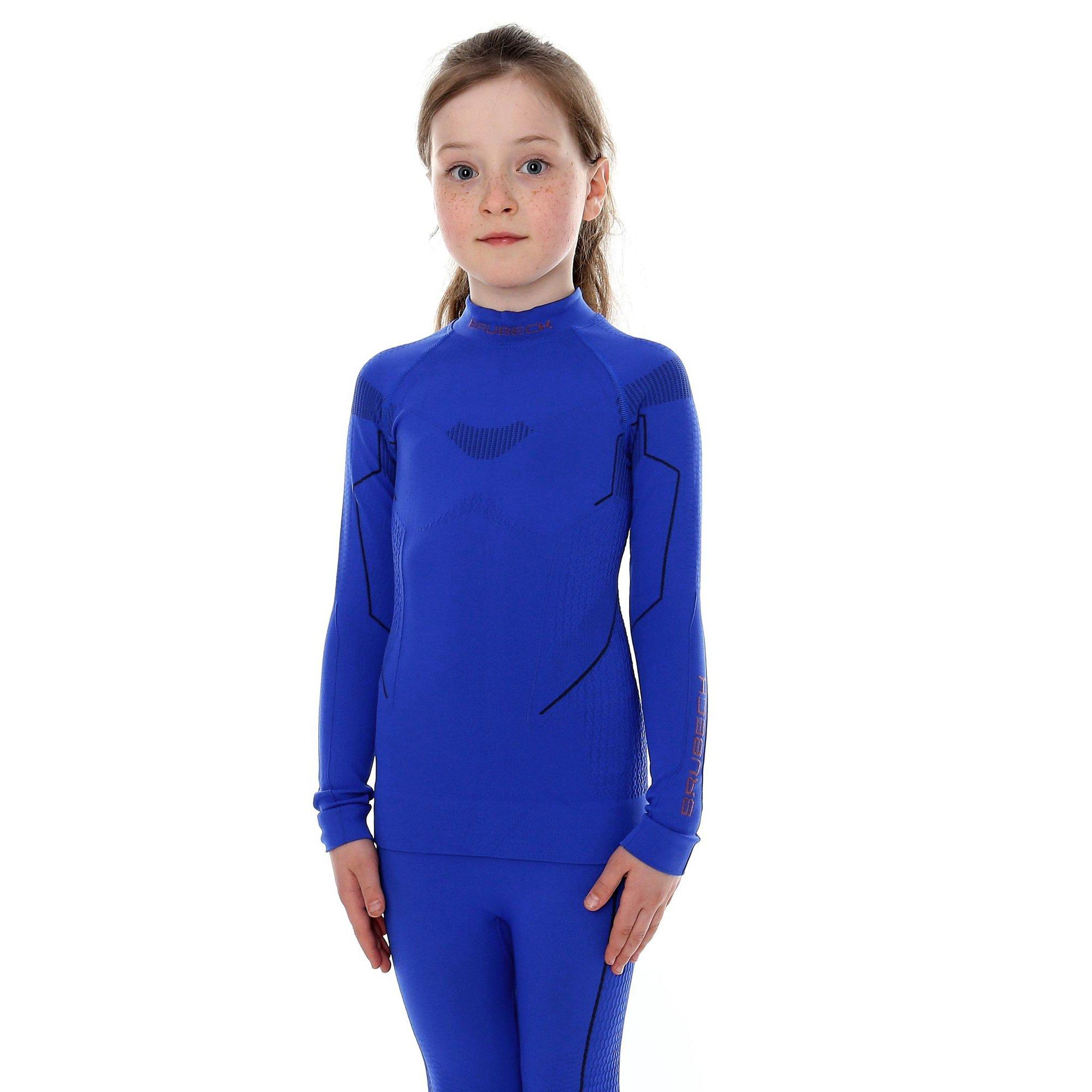 d61c72fb5b3519 ... Bluza dziewczęca Brubeck THERMO Junior koszulka termoaktywna z długim  rękawem ...