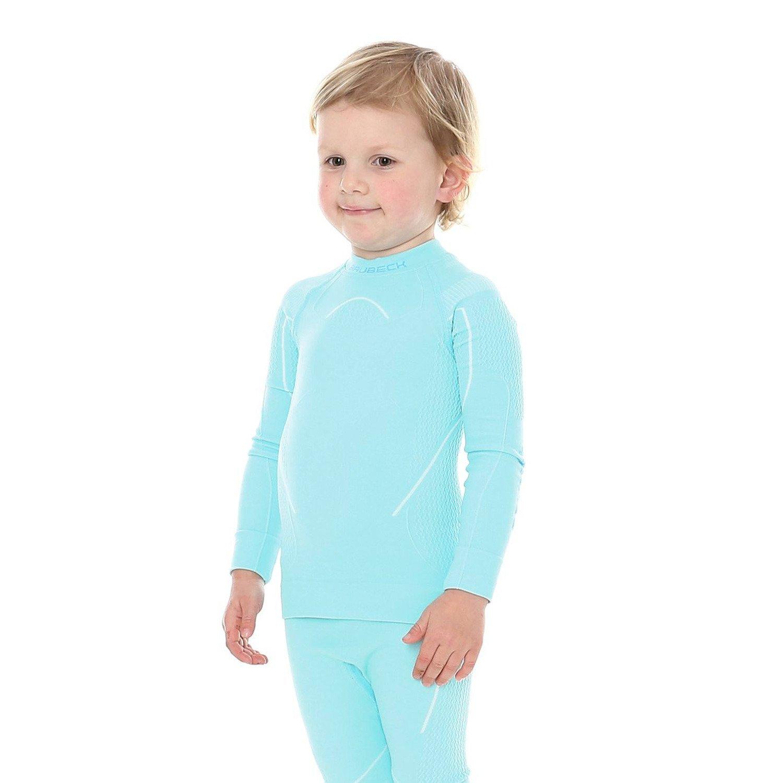 7e12be8957a93d ... Bluza dziewczęca Brubeck THERMO Kids Koszulka termoaktywna z długim  rękawem ...