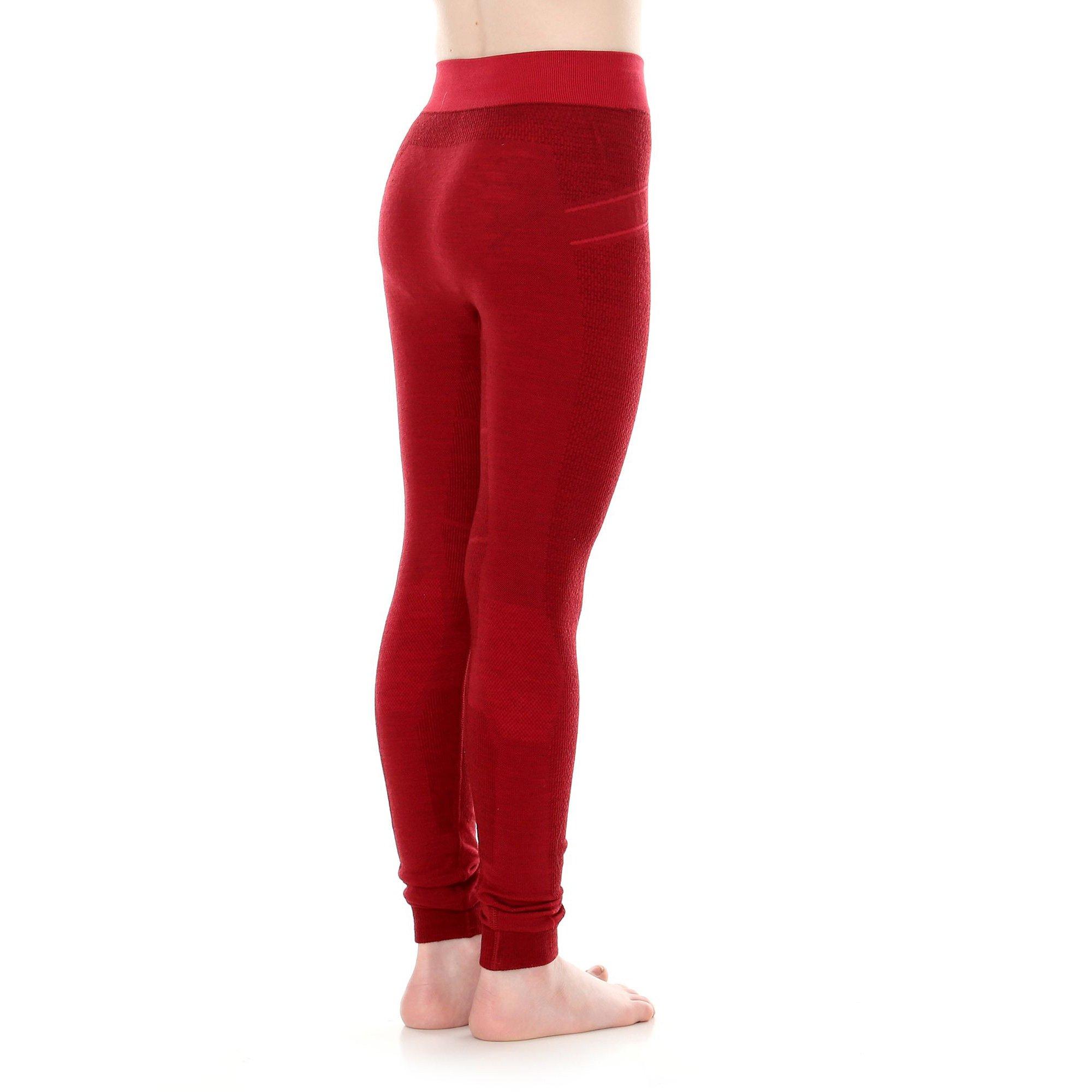 6ddc1fe32f6b28 ... Dziewczęce spodnie Brubeck ACTIVE WOOL Legginsy termoaktywne Wełna  MERINO ...