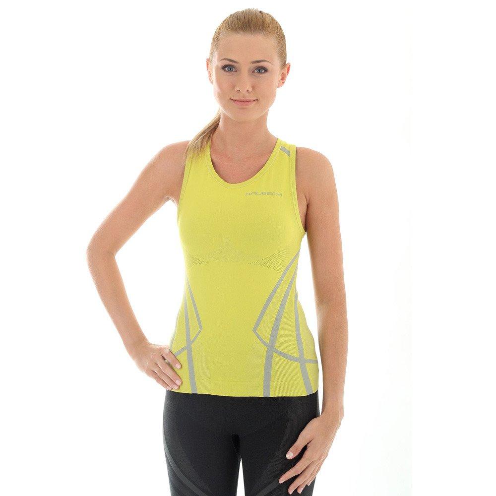 Koszulka damska Brubeck FITNESS na ramiączkach Termoaktywna bokserka