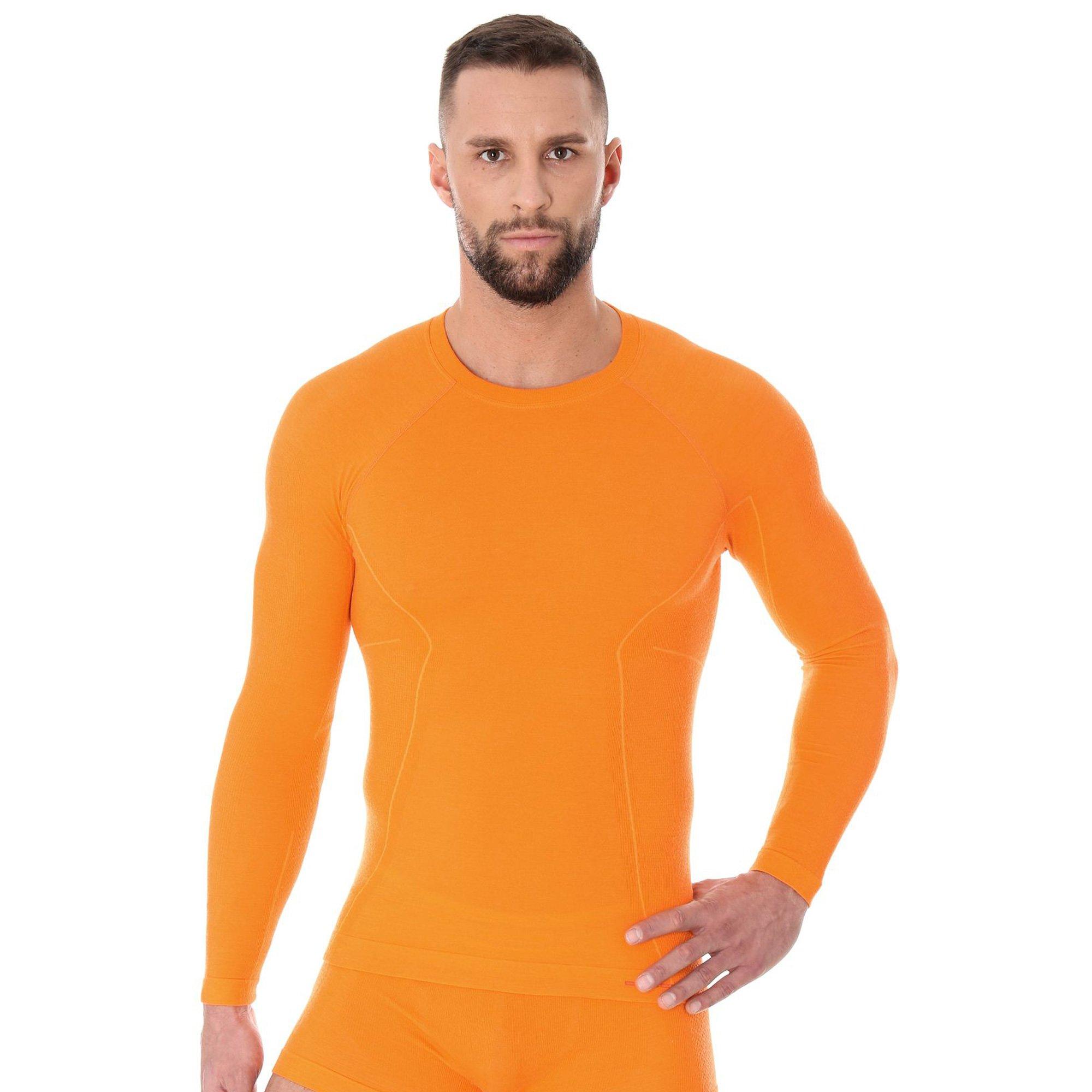 01c2919e4 ... Koszulka męska Brubeck ACTIVE WOOL z długim rękawem Bielizna  termoaktywna Wełna Merino ...
